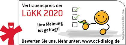 Vertrauenspreis der LüKK 2020