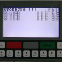 LCD-Display Frontansicht