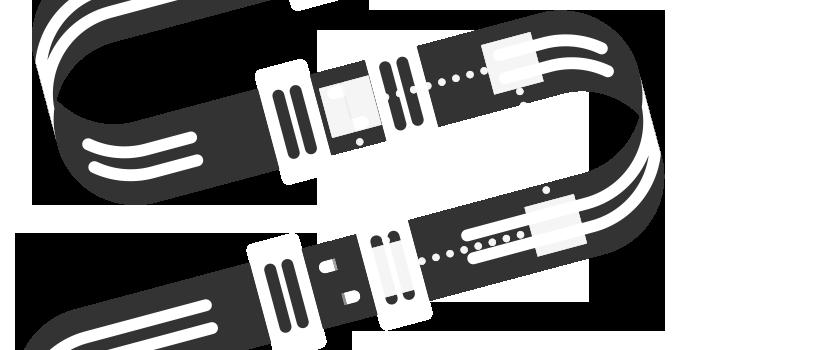 Anzeige-Module Illustration